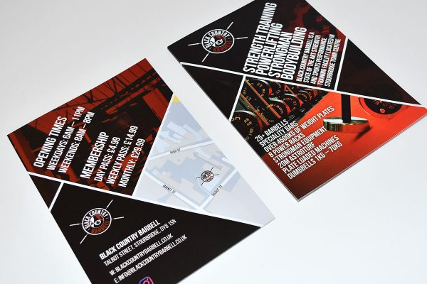 Leaflets and Flyers printed by Swinford Graphics