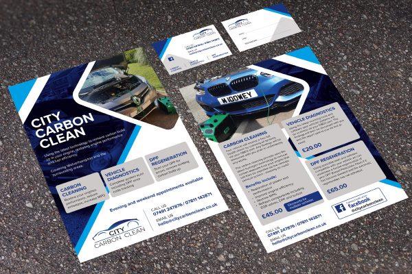 Design Print West Midlands Leaflets and Business Cards