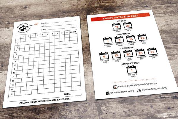 A6 Leaflets Design Print West Midlands